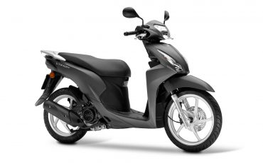 Honda Vision 110 Mat Carbonium Grey Metallic