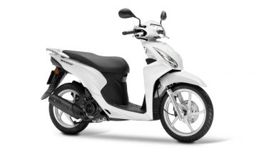 Honda Vision 110 Pear Cool White