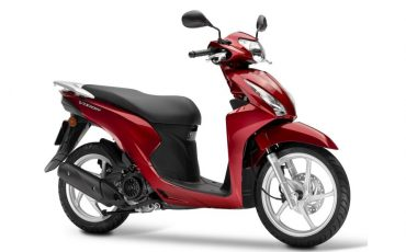 Honda Vision 110 Pear Splendor Red
